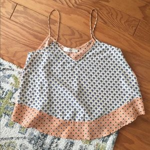 Tops - Two toned cropped tank
